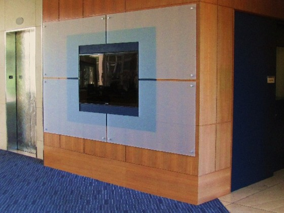 Singer General Contractor :Lobby Wall Screen