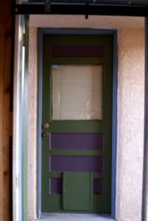 Bills Painting : Front Door