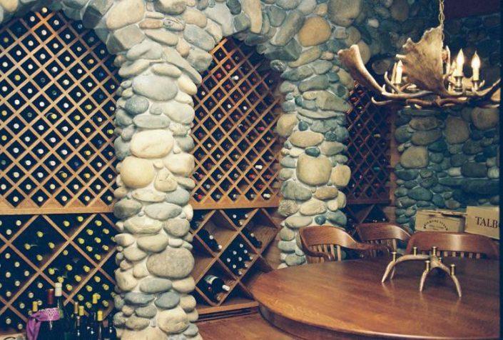 Live Oak Design: Pleasure Point wine cellar