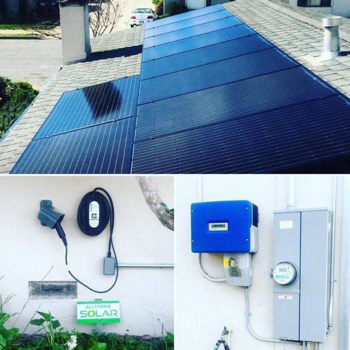 Allterra Solar Allens house