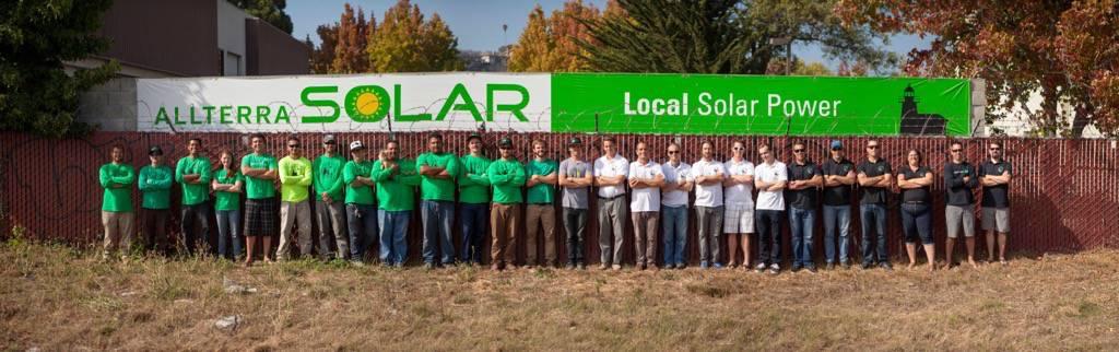 Allterra Solar Group Shot