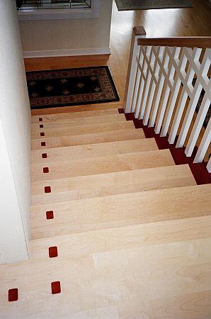 Chris Haltom Hardwood Floors: Custom Stairs