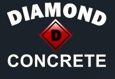 Diamond D Concrete Logo