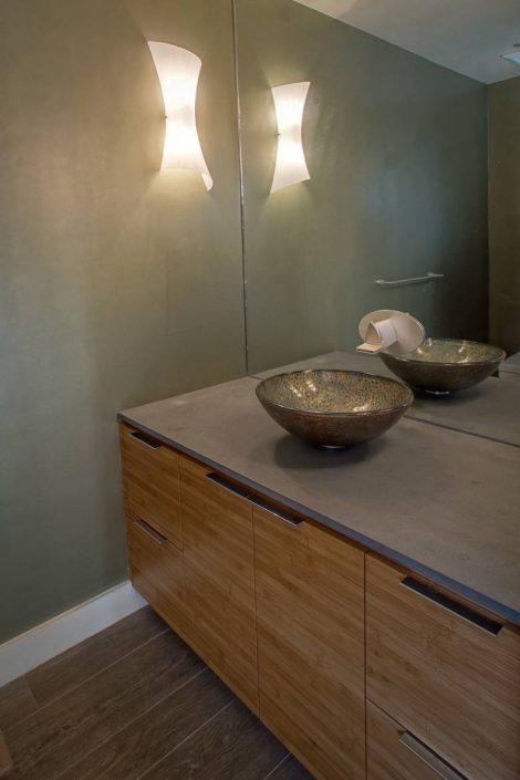 Live Oak Design: Carmel Valley powder room
