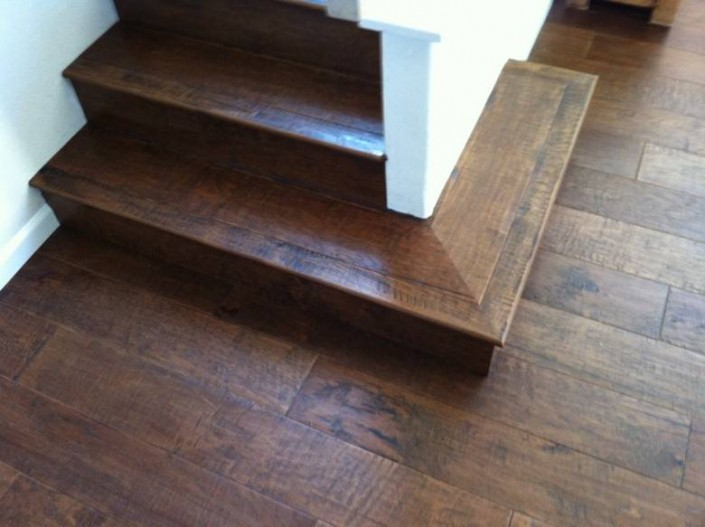 Capitola Carpets and More : Hickory Staircase