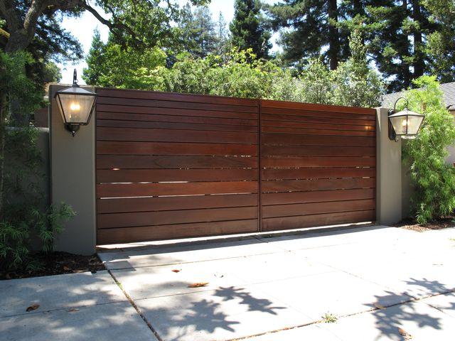 A-1 Overhead Door Co. : Custom Wood Gate