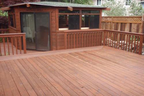 Duren Painting: Deck After