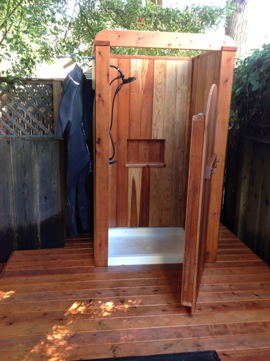 Santa Cruz County Builders: Outdoor Shower