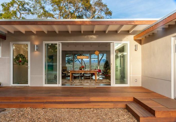 Golden Visions Design: Santa Cruz Mid-Century Modern Front