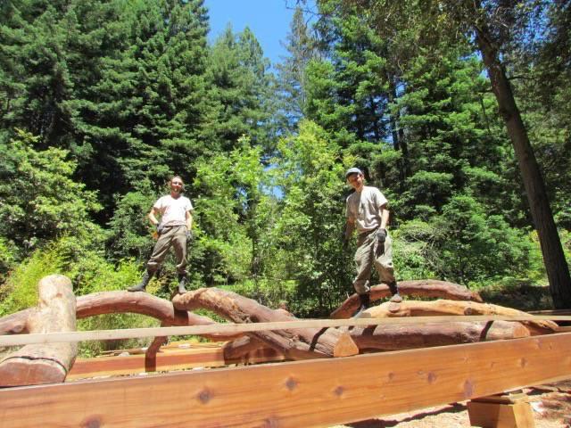 Santa Cruz Timberframes: New Timberframes