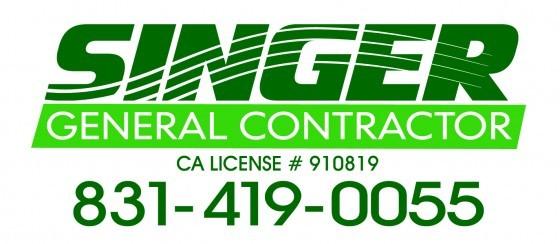 Singer General Contractor: logo