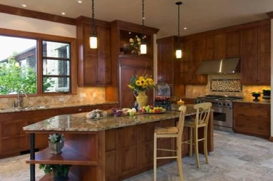 Hansmann Construction: Villa_kitchen