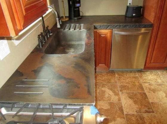 Concrete Craftsman: Kitchen CounterConcrete Craftsman - Kitchen Counter