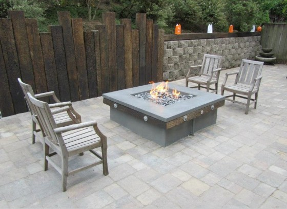Concrete Craftsman: Fire Pit Outdoor Table