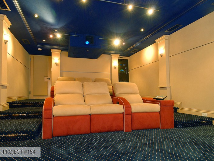 Talmadge Construction: home-theater