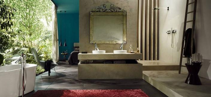 Bay Plumbing Supply and Showroom: jungle-bathroom