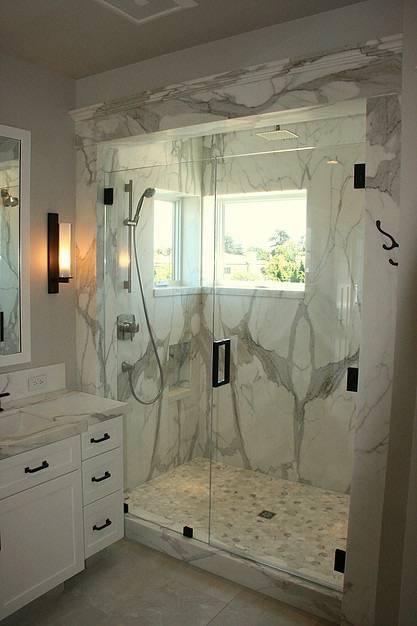 Meschi Construction Inc.: bathroom shower