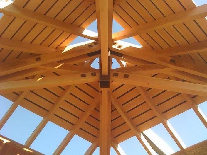 Meschi Construction Inc.: framing roof detail