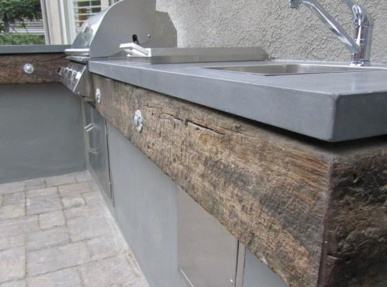 Concrete Craftsman: Outside Kitchen