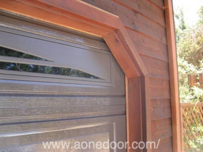 A-1 Overhead Door Co. : Sample Back Jamb