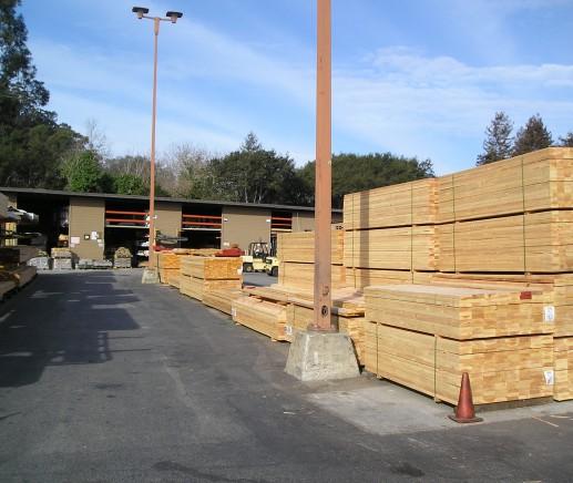 San Lorenzo Lumber: Lumberyard