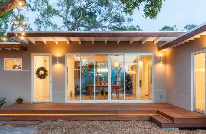 Golden Visions Design: Santa Cruz Mid-Century Front