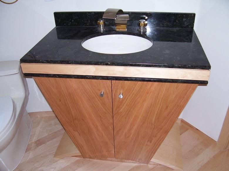 Live Oak Design: Saratoga powder room