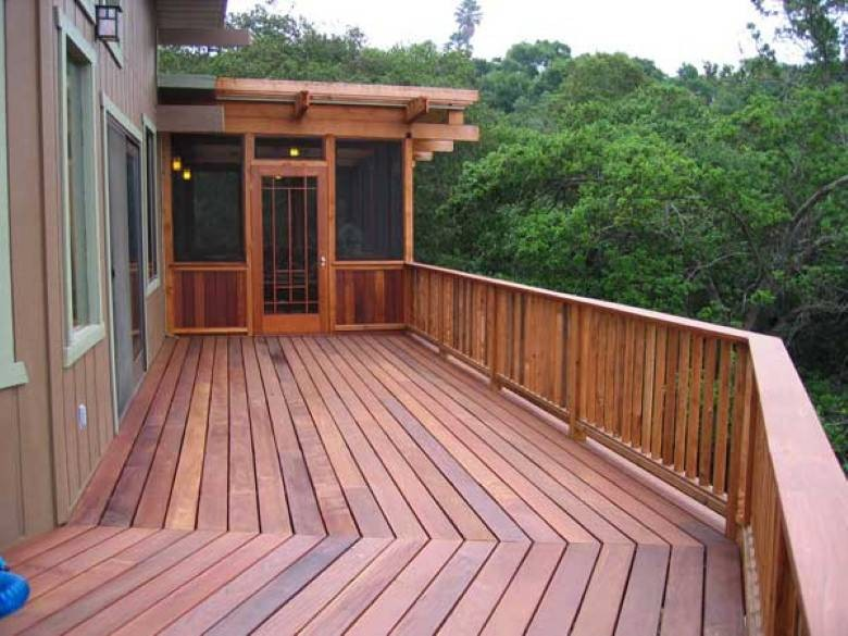 Boa Constructor Green Building & Design: Ipe Deck Screened Sleeping Porch