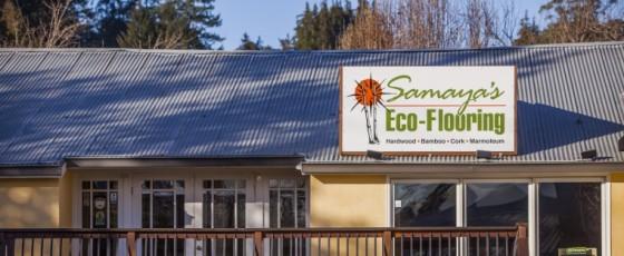 Samaya's Eco-Flooring: building