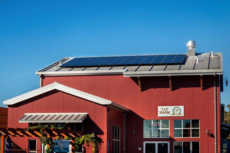 Allterra Solar Front Tap Room Panels