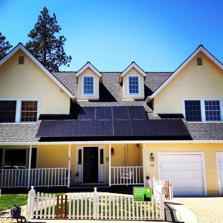 Allterra Solar roof panels