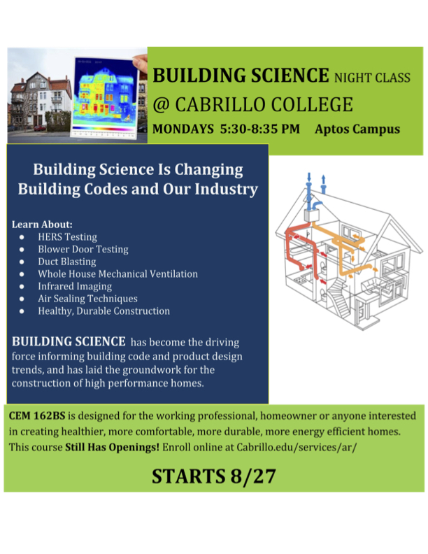Building Science Flyer