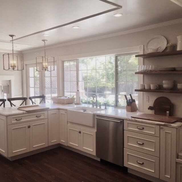 Champlin Interiors: Farmhouse kitchen remodel