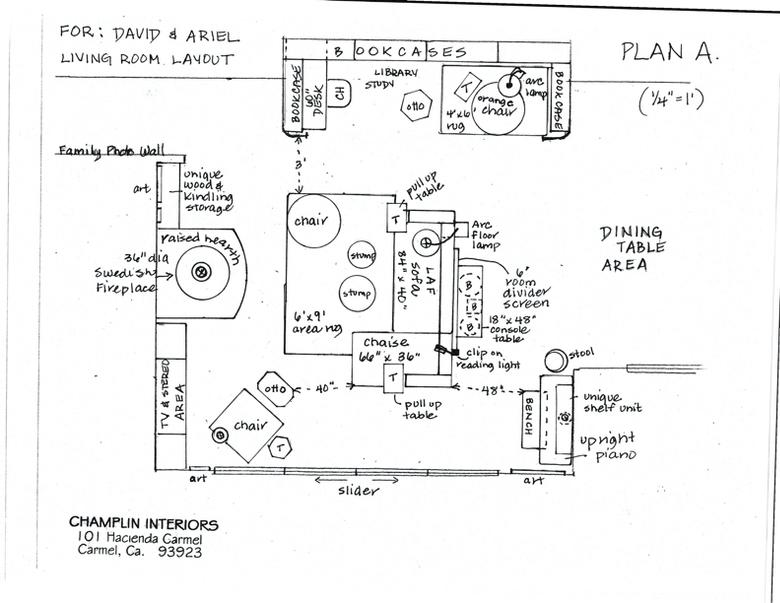 Champlin Interiors: Living Room Layout