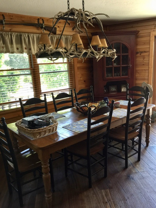 Champlin Interiors: Ranch house casual dining