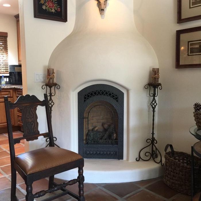 Champlin Interiors: Spanish Colonial condo remodel
