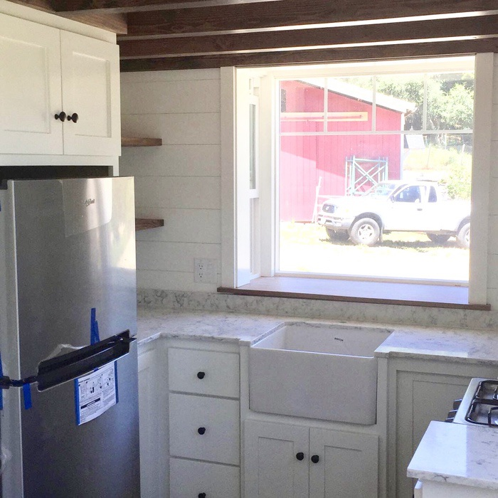 Champlin Interiors: Tiny house kitchen