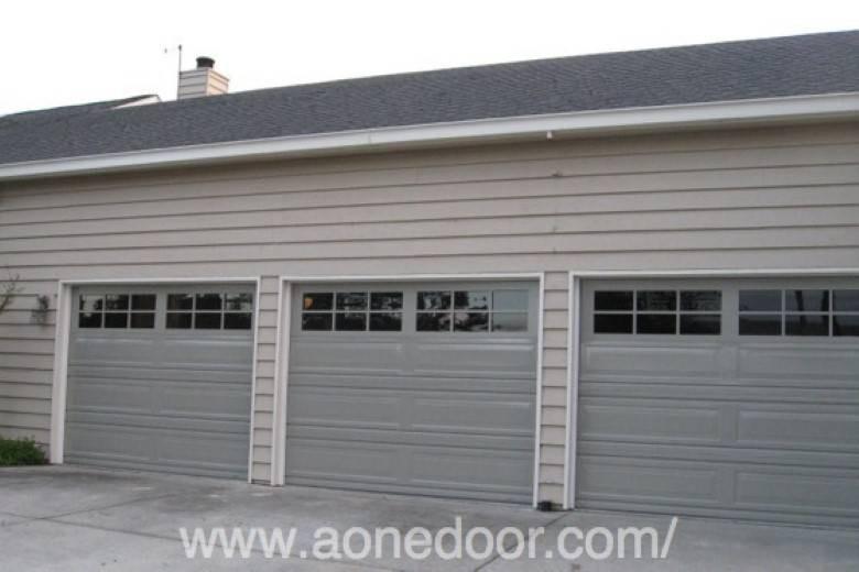 A-1 Overhead Door Co. : Cornerstone , long with alum windows