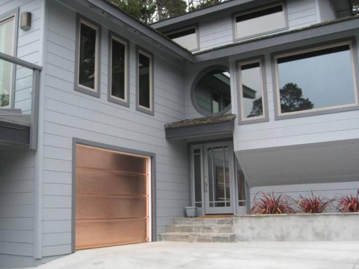 A-1 Overhead Door Co. : Cypress Copper Door