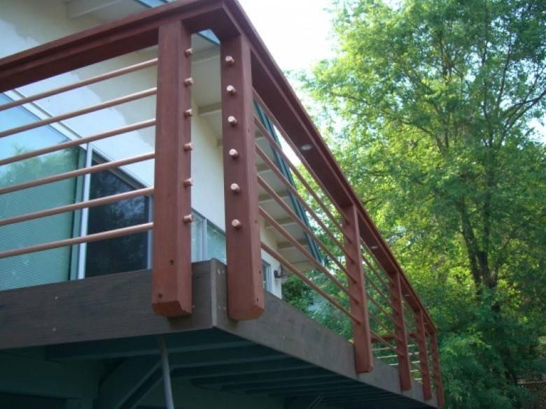 Mazzei Construction : Deck Railing