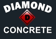 Diamond D Concrete Logo