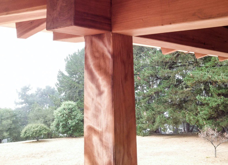 Out of the Woods: Figured Redwood Post