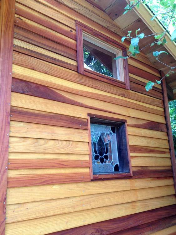 Out of the Woods: Hardwood Siding