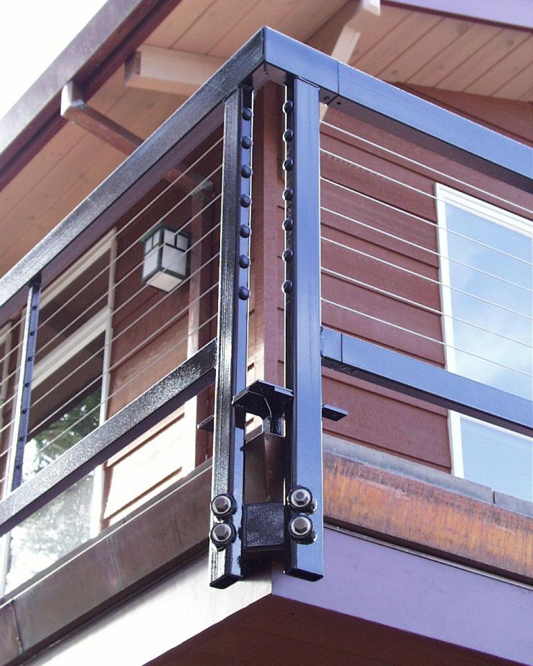 Westport Builders: Metal Handrail