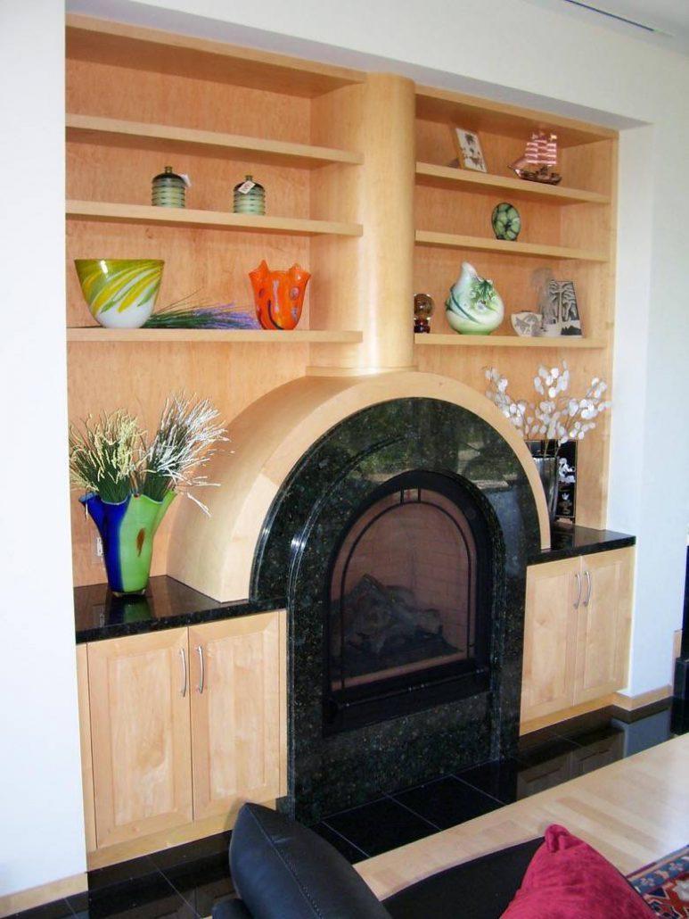 Live Oak Design: Saratoga fireplace surround