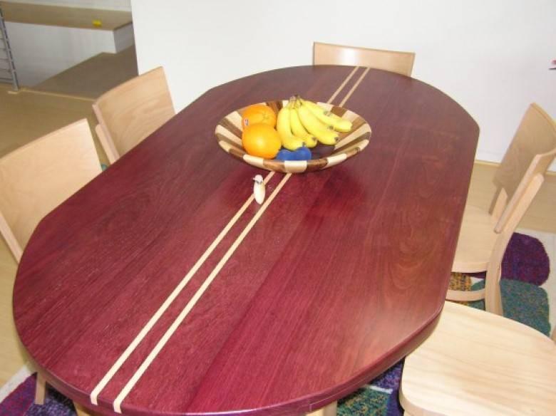Mazzei Construction : Hand Built Maple Table