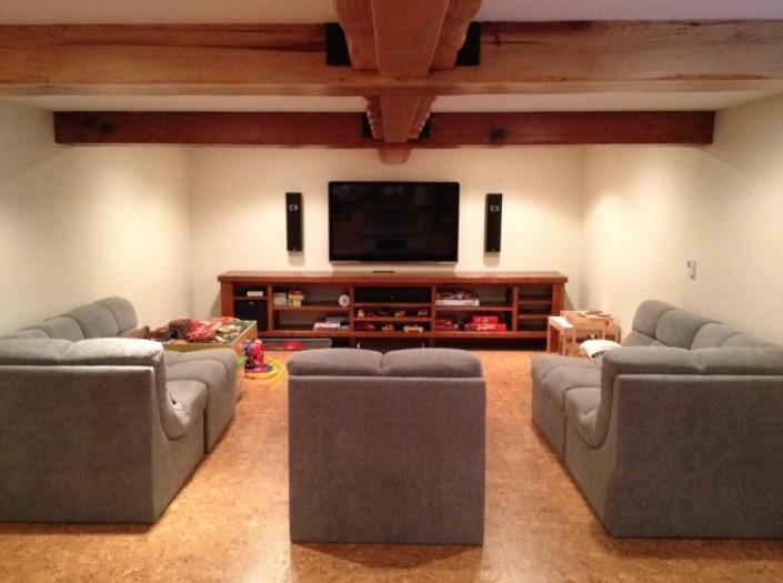 Portfolio-Boyd-and-Sons-Construction-: Home Theatre