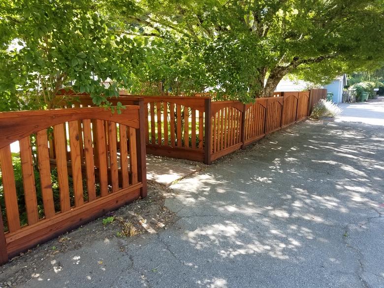 Parks Construction - Boulder Creek Fence and Gate 1