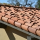 Premo Roofing: 2-piece clay mission tile imported from Mexico detail