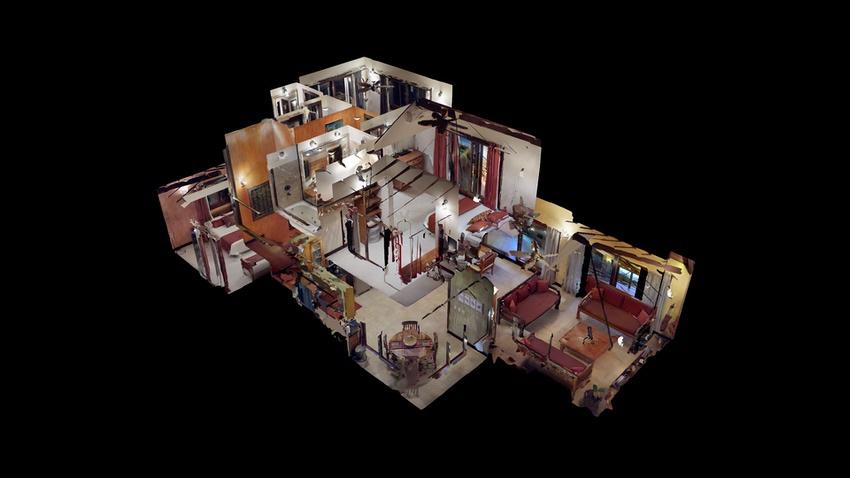 RealTour Home: Dollhouse view CasaLita Buzios